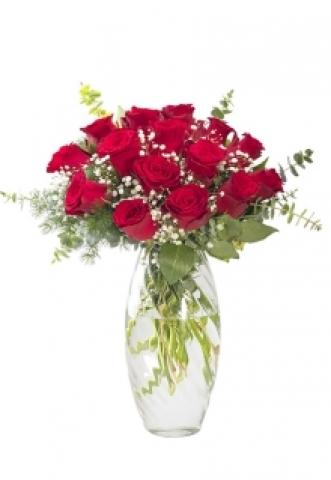 Vazoda Kırmızı Güller 1